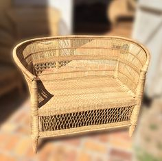 Malawi traditional-2-seater Traditional Chairs, Traditional Design, Cane Furniture, Bamboo, Things To Come, Handmade, Spaces, Color, Home Decor