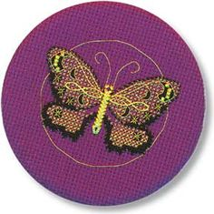 A beginner cross stitch design by Janelle Giese.