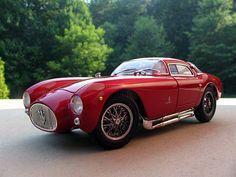"""specialcar: """" 1954 Maserati Berlinetta A6 GCS Coupe """""""