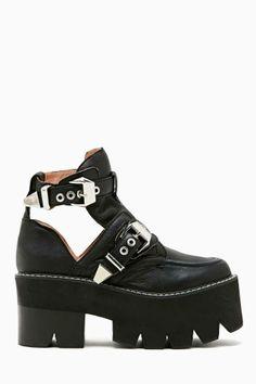 Oh sweet love of mine <3 <3  @Jeffrey Campbell  the Jeffrey Campbell Asylum Platform Boot
