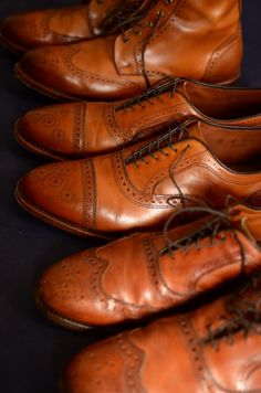 sartorialsophistication: A few of my shoes. Allen Edmonds: From...
