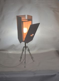 """Table Lamps – Table lamp """"Nesting box"""" wite – a unique product by Leftsun on DaWanda"""