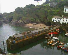 Polperro Harbour Webcam Re-Positioned
