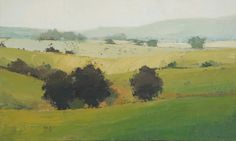 Rolling Green : landscape paintings : Landscapes, Paul Balmer
