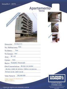 Apartamento en Venta Santa Marta #inmobiliaria #venta #santamarta #apartamentos