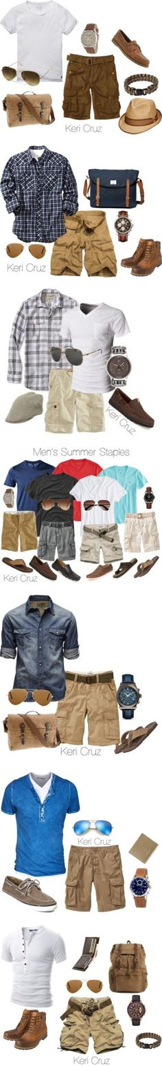 Summer by sergiy-miroshnychenko on Polyvore featuring Scotch & Soda, Ray-Ban, J.Crew, Emporio Armani, Tommy Bahama, Rothco, Old Navy, Sandqvist, Earthkeepers By Timberland and Christys'
