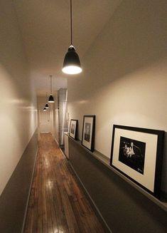 Una soluci n muy interesante para un pasillo largo y estrecho pasillos - La casa de los suenos olvidados ...