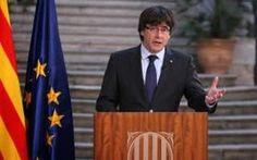 Carles Puigdemont wants to turn the December elections into a second push for an independence mandate