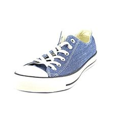 Converse Chuck Taylor All Star OX Washed Canvas Low Top Sneakers 147038F Navy 11 M US -- Visit the image link more details.(This is an Amazon affiliate link and I receive a commission for the sales)