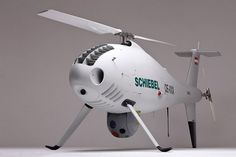 Schiebel CAMCOPTER S-100 UAS UAV DRONE HELICOPTER HELI Video Drone