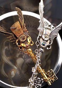 Secrets of the Time Bearer Keys by KeypersCove.deviantart.com on @DeviantArt