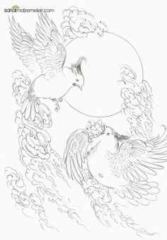 minyatür Bird Coloring Pages, Coloring Books, Chagall Paintings, Iranian Art, National Art, Mandala Drawing, Indian Gods, Painting Videos, Indian Paintings