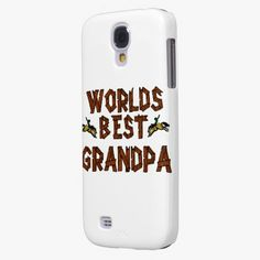 It's cool! This Worlds Best Grandpa Galaxy S4 Covers is completely customizable and ready to be personalized or purchased as is. Click and check it out!