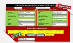 [.xls otomatis] Aplikasi PKG Otomatis Menggunakan MS. Excel Terbaru - Memudahkan Asesor dalam Rangka Penilaian Kinerja Guru Microsoft Excel, English Grammar, Education, Dahlia, Words, Projects, Blog, Period, Log Projects
