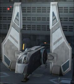 "The ""Mandalorian Assault Transport"" was a modified Aka'jor-class shuttle built by the Mandalorian starship company, MandalMotors. Seen in Cartoon Network's ""The Clone Wars."""