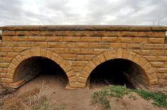 Hitchman Double Arch Bridge (WPA), Barton County, KS.