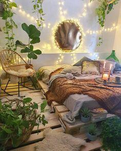 Source by lissyhundefan melville aesthetic bedroom - bohemian bedroom Dream Rooms, Dream Bedroom, Home Bedroom, Nature Bedroom, Nature Inspired Bedroom, Fairytale Bedroom, Master Bedroom, Jungle Bedroom, Garden Bedroom