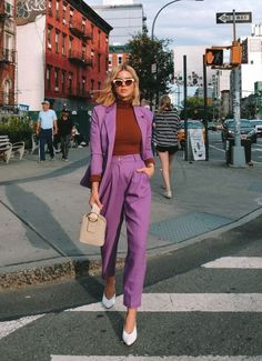 New York Fashion, Fashion Week, Fashion Looks, Looks Street Style, Looks Style, Style Me, Pink Style, Stylish Outfits, Fashion Outfits