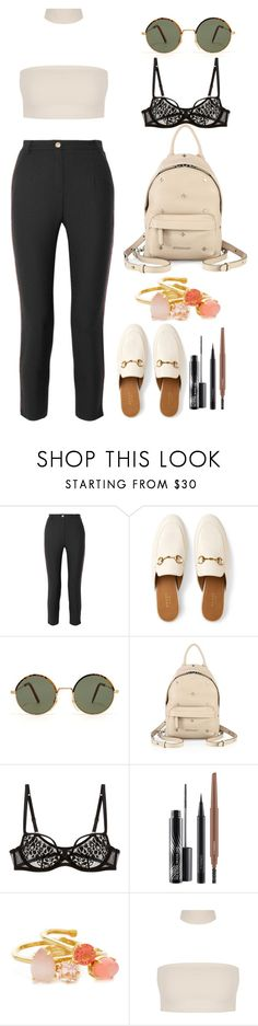 """"""""""" by lovelydgessy on Polyvore featuring Pierre Balmain, Gucci, Givenchy, L'Agent By Agent Provocateur, MAC Cosmetics and Kate Spade"""