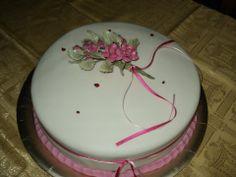 Torta flores y vaquitas
