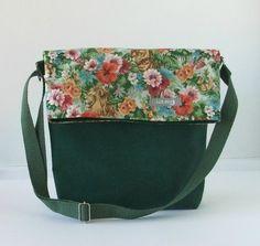 Bolso bandolera bag tasche hecho a mano tela loneta canvas algodon cotton estampados accesorios complementos Lolahn Handmade - Felinos 5