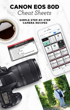 Simple step-by-step cheat sheets, to help you take better photos with your Canon EOS 80D. Find out exactly which settings to use with your 80D for a variety of subjects. Take them with you wherever you go.