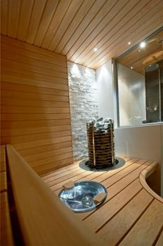 Alpine Style, Sauna Room, Chalet Style, Spa Rooms, Saunas, Home Spa, Dream Rooms, Decoration, Basin