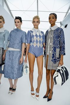 Louis Vuitton - Spring/Summer 2012 Ready-To-Wear #backstage