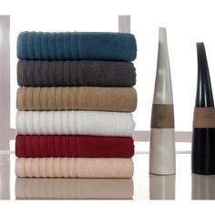casa platino combed soft cotton 600 gsm 8piece towel set by casa platino - Slumber Solutions
