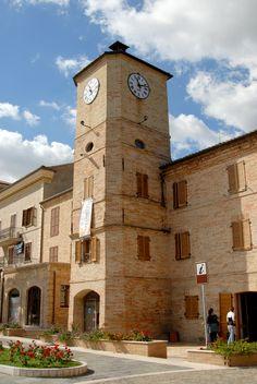 Torre dell'orologio. #marcafermana #portosantelpidio #fermo #marche