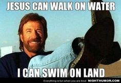 Chuck Norris Joke of the Day