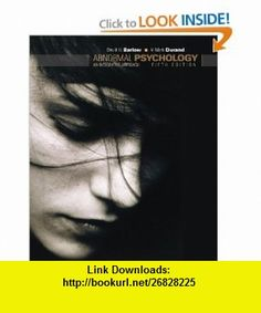 Abnormal Psychology An Integrative Approach (with Abnormal Psych Live CD-ROM) (9780495095569) David H. Barlow, V. Mark Durand , ISBN-10: 0495095567  , ISBN-13: 978-0495095569 ,  , tutorials , pdf , ebook , torrent , downloads , rapidshare , filesonic , hotfile , megaupload , fileserve