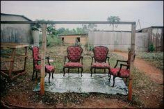 DOUALA, Cameroon—A furniture shop, 1998. © Harry Gruyaert / Magnum Photos