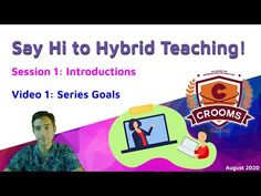 Say Hi to Hybrid Teaching Say Hi, Back To School, The Creator, It Works, Teacher, Goals, Sayings, Learning, Remote