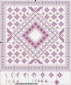 Cross-stitch Biscornu... no color chart available, just use the pattern chart as your color guide.. or choose your own colors...    LIVE, LAUGH, LOVE ...: Schema