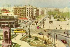 1950'LERİN SONU Istanbul Pictures, Old City, Old Pictures, Once Upon A Time, Paris Skyline, Old Things, History, Street, Travel