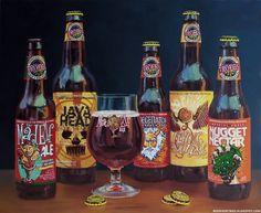 Troegs Brewery beer painting