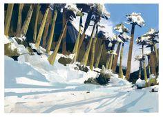 ArtStation - Nieve + playa, Eric Cousin