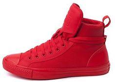 Mua New CONVERSE Chuck Taylor All Star Hi Top Canvas Leather Sneaker red từ  ebay.com ship nhanh từ weshop.com.vn  10878fada