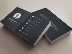 Dribbble - Business Card by Warren Lebovics