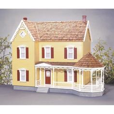Have to have it. Real Good Toys Addison Dollhouse Kit  - 1 Inch Scale $473.98