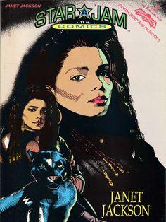 Star Jam Comics, Janet Jackson #2  Unauthorized and Proud of it!