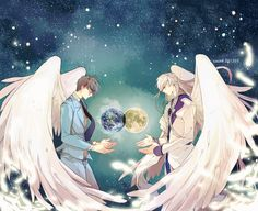 Cardcaptor Sakura | CLAMP | Madhouse / Tsukishiro Yukito and Yue / 「❤❤❤」/「CAUSE('ω')ノシ」のイラスト [pixiv]