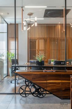 An Office Space with Visual Connectivity and Framed Compositions : The Metal and Tool Project   Sparc Design - The Architects Diary Office Decor, Conference Room, Space, Architects, Table, Projects, Composition, Furniture, Metal
