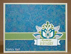 A Happy Birthday Birthday Cards, Happy Birthday, Arts And Crafts, Paper Crafts, Scrapbook Pages, Scrapbooking, Heart Cards, Close To My Heart, Paper Decorations