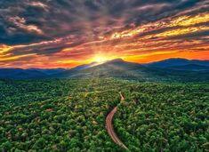 Landscape Photos, Landscape Photography, New England Foliage, White Mountain National Forest, National Road, Photo Transfer, White Mountains, Photo Canvas, New Hampshire
