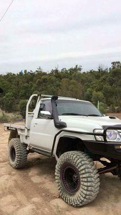 Mean Toyota 4x4, Toyota Trucks, Toyota Hilux, Lifted Trucks, Pick Up, Landcruiser Ute, Nissan Patrol Y61, Nissan R34, Ute Trays