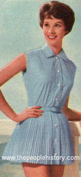 Pleated Playsuit 1959