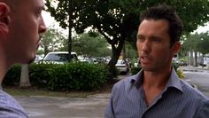 "Burn Notice 2x10 ""Do No Harm"" - Michael Westen (Jeffrey Donovan) & Todd (Graham Shiels)"