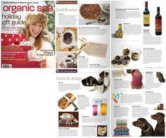 Organic Spa Magazine - Home Decor, November 2010